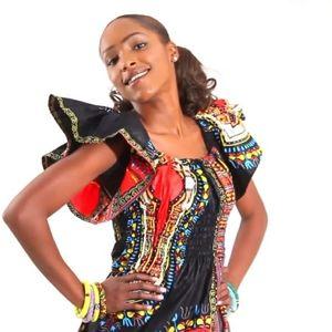 Ghana Bohemian Tribal Maxi Dress